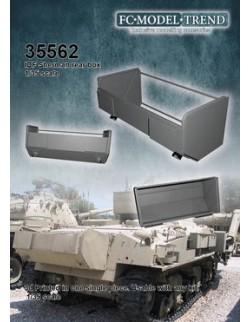 35562 IDF Shermans rear hull box, SCALE 1:35 FC MODEL TREND