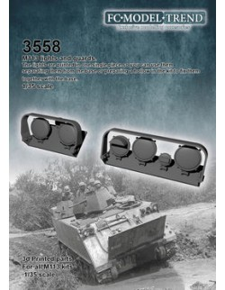 35588 M113 lights and guards, SCALE 1:35 FC MODEL TREND