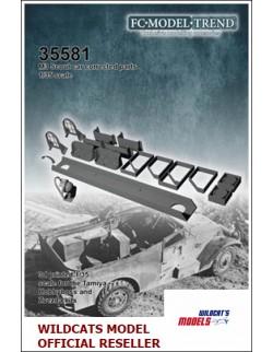 35581 M3 Scout car details, SCALE 1:35 FC MODEL TREND