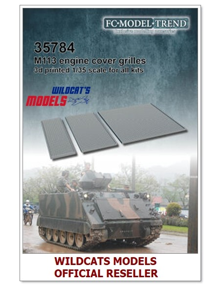 FC MODEL TREND 35774, Chieftain exhausts, 3d printed, - for ALL, 1/35