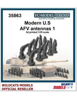 FC MODEL TREND 35863 Modern U.S. AFV antennas, set1, 3d printed, for ALL, 1/35
