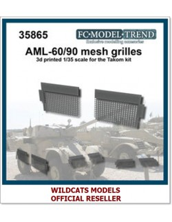 FC MODEL TREND 35865, AML-60/90 mesh grilles, 3d printed, - for TAKOM, 1/35