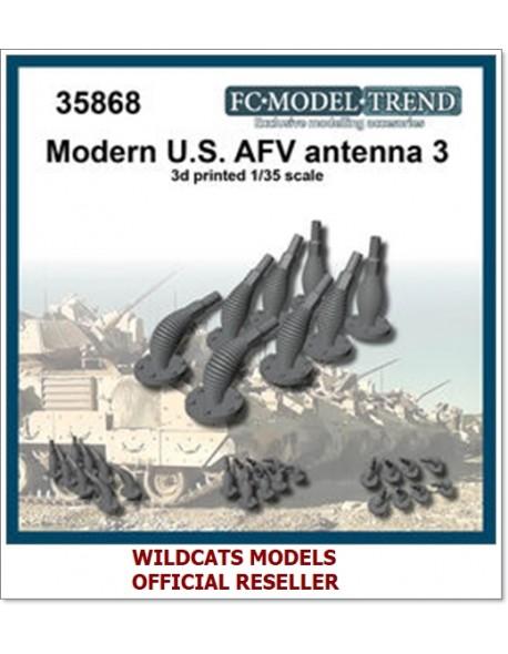 FC MODEL TREND 35868 Modern U.S. AFV antennas, set3, 3d printed, - for ALL, 1/35