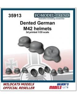 FC MODEL TREND 35913, German dented helmets, 3d printed, 1/35
