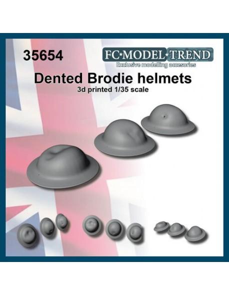 FC MODEL TREND 35915, UK dented helmet, 3d printed, 1/35