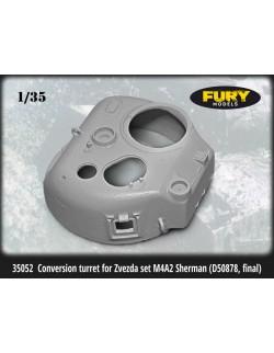 FURY MODELS 1/35, 35052, US M4A2 Sherman Conversion turret (D50878) LATE