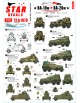 Star Decals 72-A1079, BA-10M and BA-20M. Soviet armored cars in Foreign se, 1/72