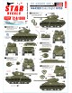 Star Decals, 72-A1080, US M4A3E8 'Easy Eight' tanks in NV Europe 1944-45, 1/72