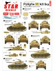 Star Decals 72-A1089, Panzer in the Desert NO 6. PzKpfw IV Ausf F2 , D/E/F1, 1/72