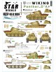 Star Decal 48-B1006, Wiking NO1. Panthers of SS-Panzer Reg. 5 Wiking, SCALE 1/48
