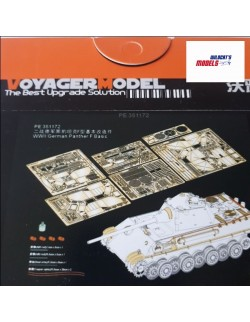 PE for WWII German Panther F Basic(For DRAGON 6403 6382 9008),351172, 1:35, VOYAGERMODEL
