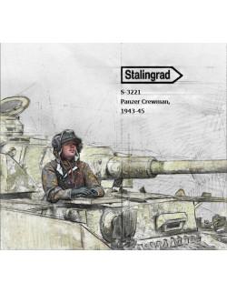 STALINGRAD MINIATURES, 1:35, S-3221 New! Panzer Crewman, 1943-45 (1 FIG.)