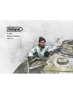 STALINGRAD MINIATURES, 1:35, S-3222 New! Panzer Crewman, 1943-45 (1 FIG.)
