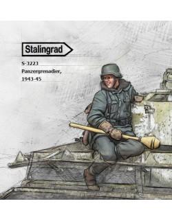 STALINGRAD MINIATURES, 1:35, S-3223 New! Panzergrenadier, 1944-45 (1 FIG.)