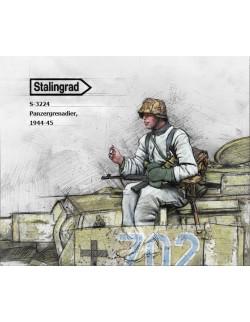 STALINGRAD MINIATURES, 1:35, S-3224 New! Panzergrenadier, 1944-45 (1 FIG.)