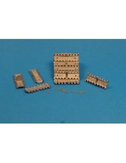 MASTERCLUB, MTL35016, 1:35, METAL TRACKS for T-34 550mm M1940 Initial