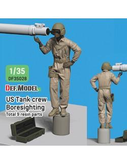 DEF.MODEL, DF35028, Modern US Tank crew Boresighting (1 FIGURE), 1:35
